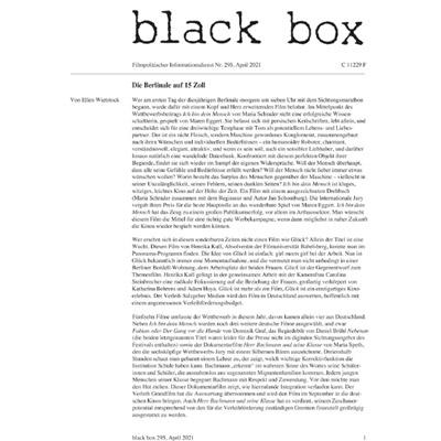 blackbox ausgabe